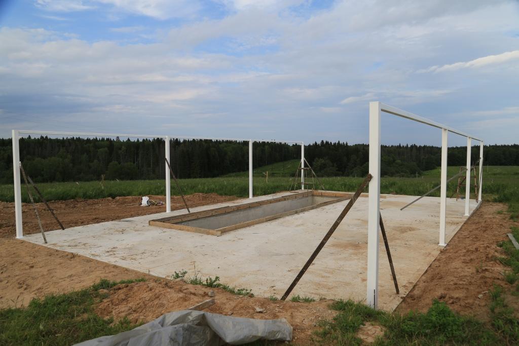 Здания для сельского хозяйства на основе стального несущего каркаса