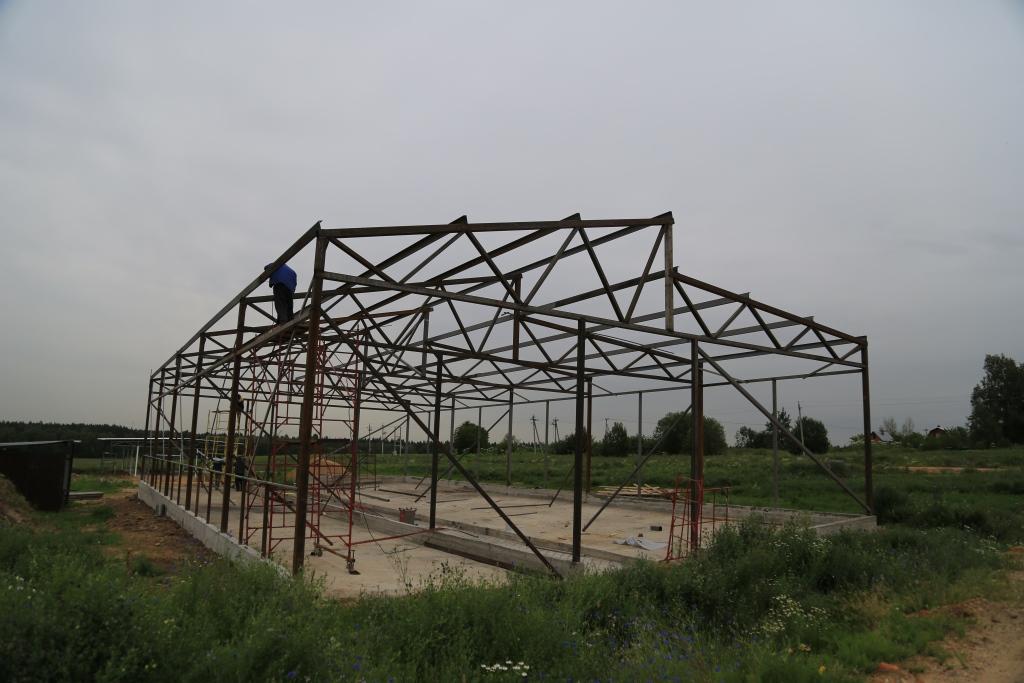 Коровники и телятники - строительство из модулей
