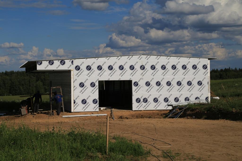 Здания из сэндвич-панелей для сельского хозяйства