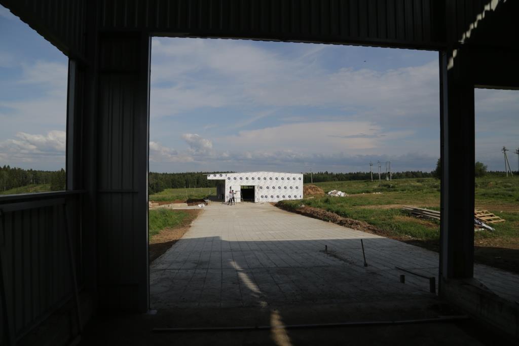 Здание молочно-доильного блока