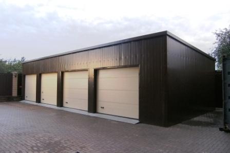 тёплый гараж, кирпичный гараж