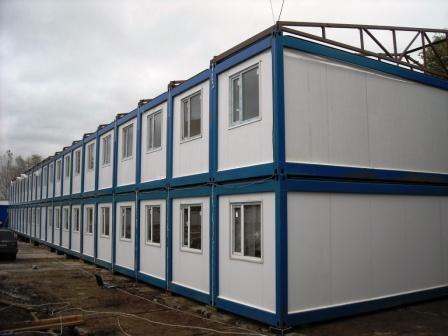 Модульные здания из сэндвич панелей, блок контейнер сборный, изготовление блок контейнеров