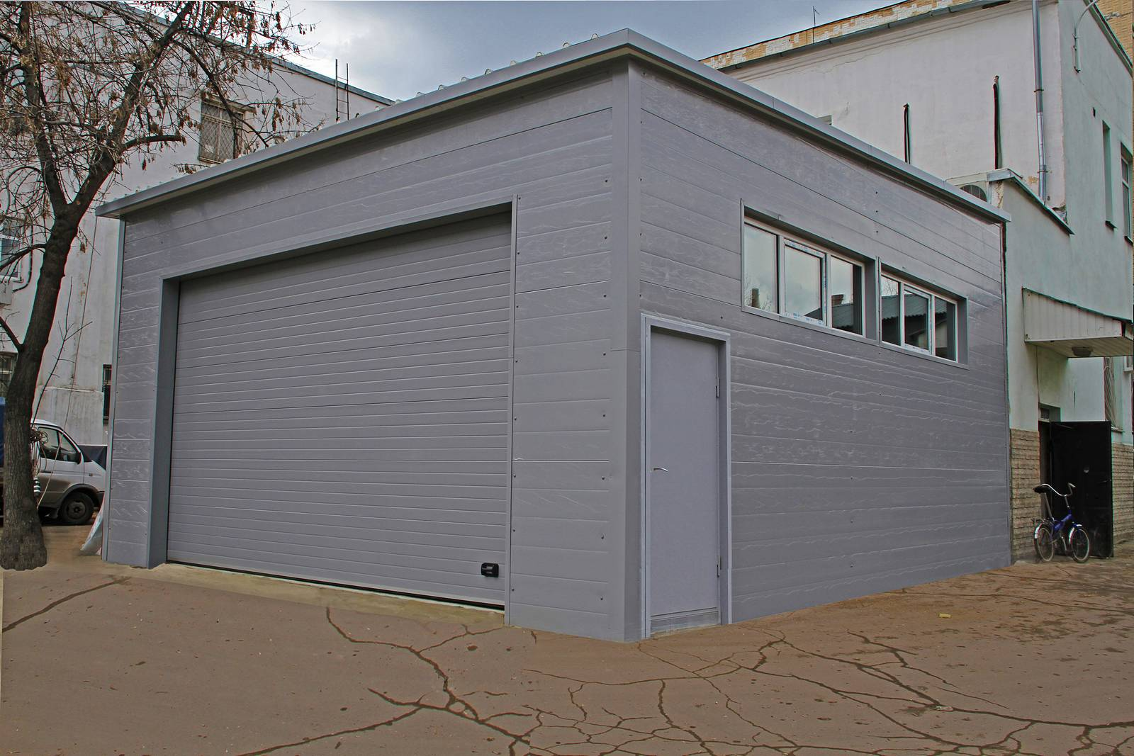 Здания гаражей, строительство гаража, строительство гаражей