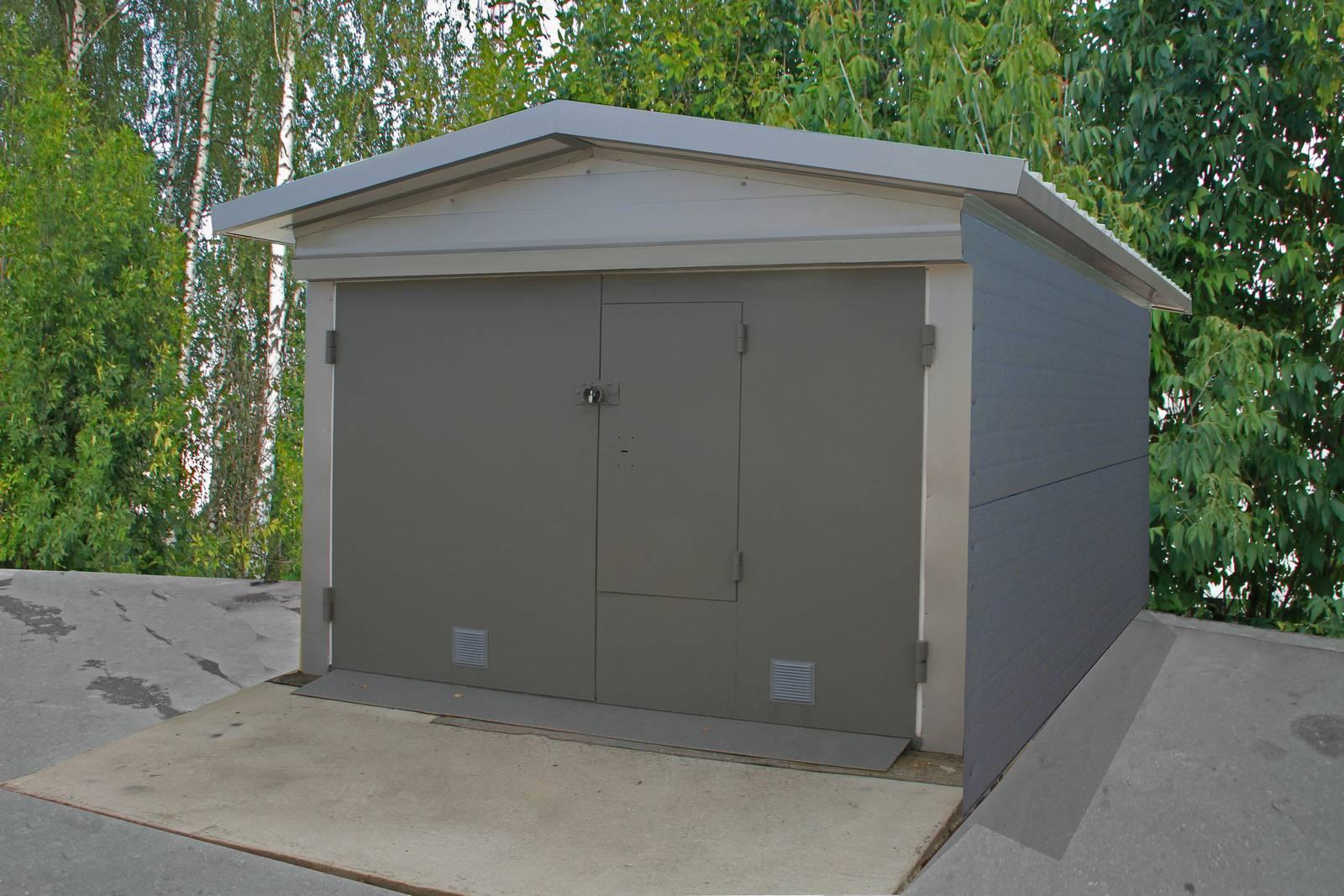 Построить гараж своими руками недорого 6 9 из сэндвич панелей 97