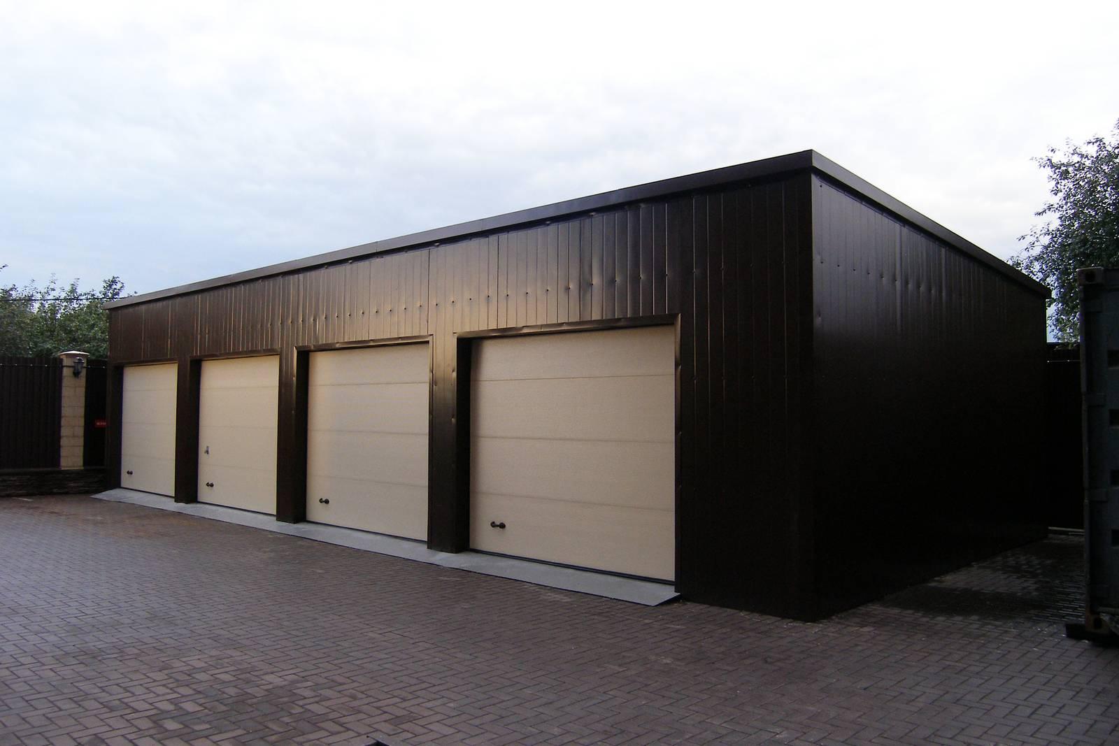 Построить каркасный гараж цена