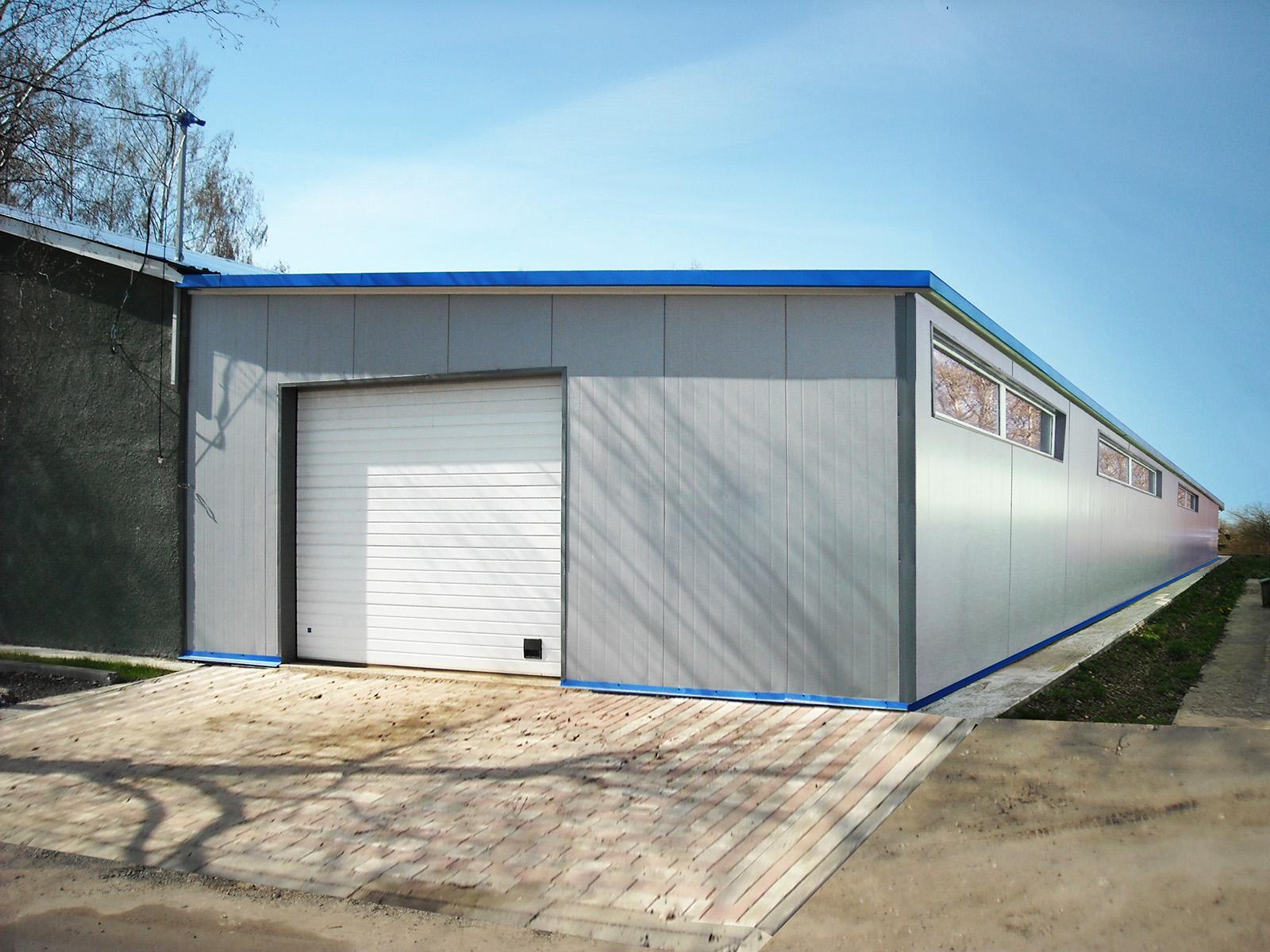 металлоконструкции гаража фото
