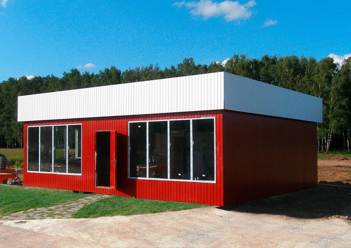 строительство магазина в жилом доме